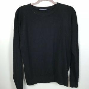 Brandy Melville one Size Black crewneck sweater